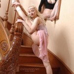 Nude ballerinas dancing driving us crazy from desire