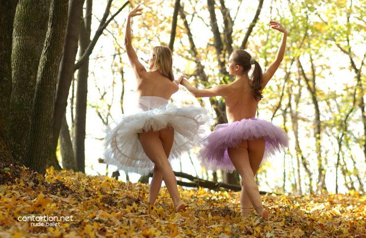 Nude ballerinas