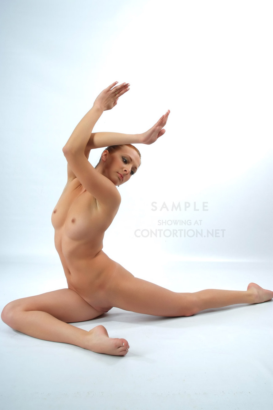 Nude ballet dancer's video