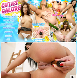 The hottest flexible cuties in contortion sex paradise