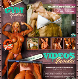 Nude female bodybuilders