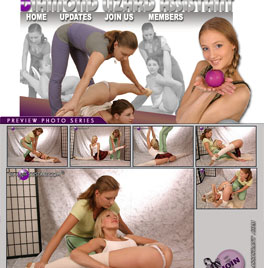 Super flexible sexy contortionists