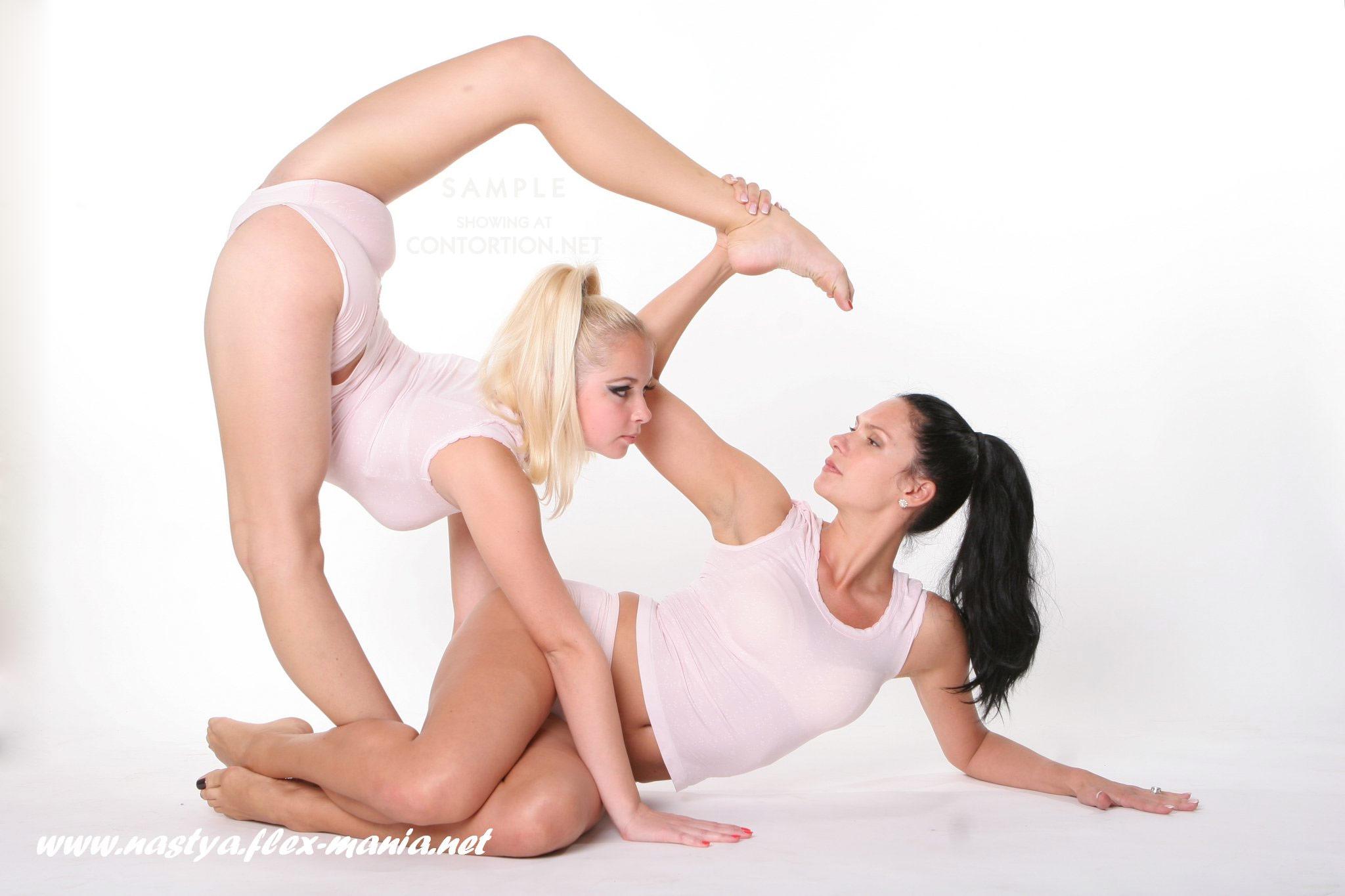 Spandex in flexy women