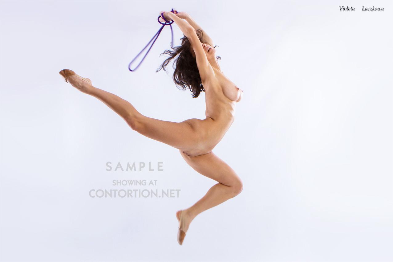 Naked Ballerina Is Dancing Now