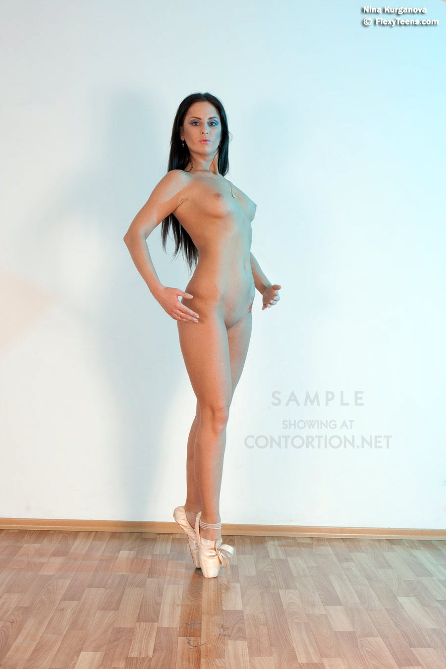 Black female ballet nude video
