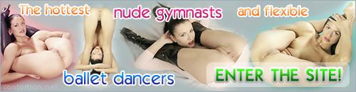 Nude gymnasts