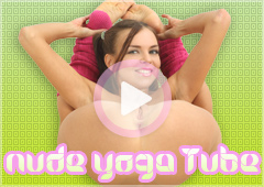 Nude yoga video