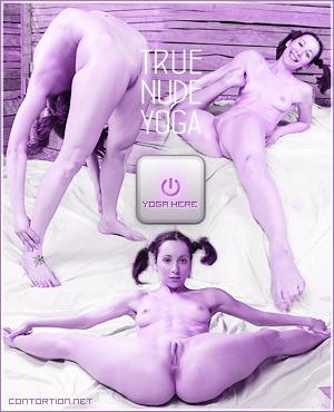 True nude yoga