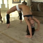 Contortionist sex gallery with pretty guy banging nasty contortion slut