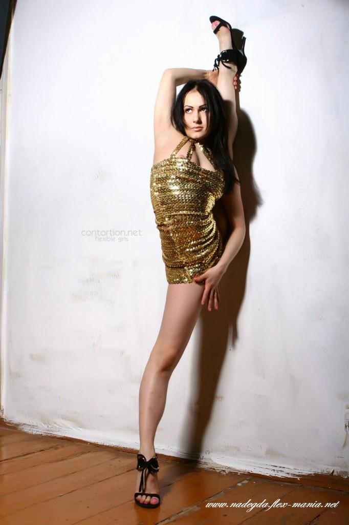 very flexible girl