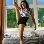 Young ballerina nude