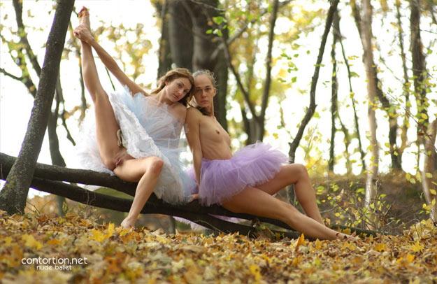 Free nude ballerinas photos