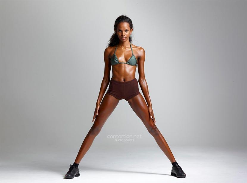 Nude fitness