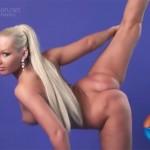 Nude gymnastics video