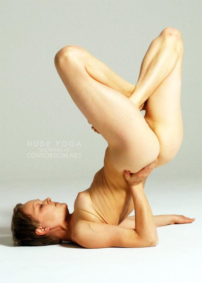 Hot nude yoga