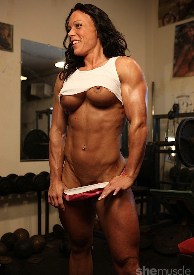 busty naked muscle women