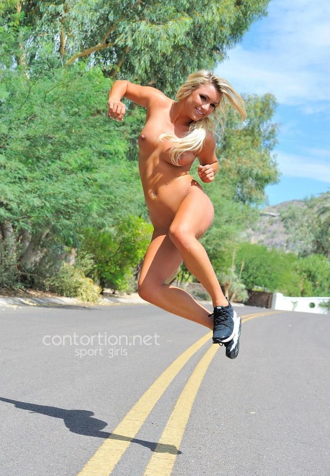 Naked sport girl