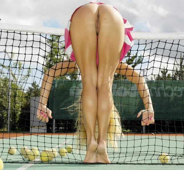 Nude Girls Doing Sports