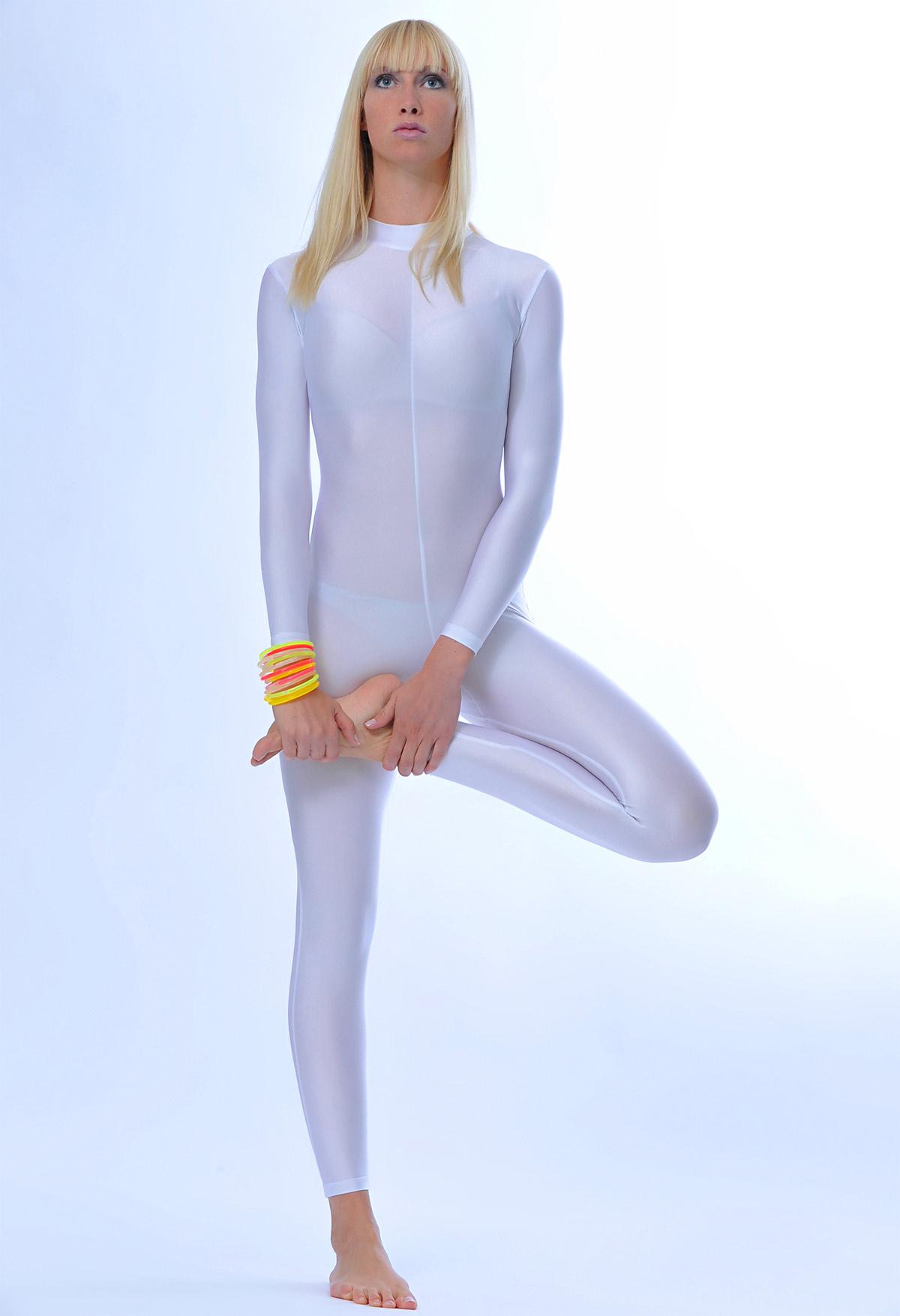 Girl in spandex