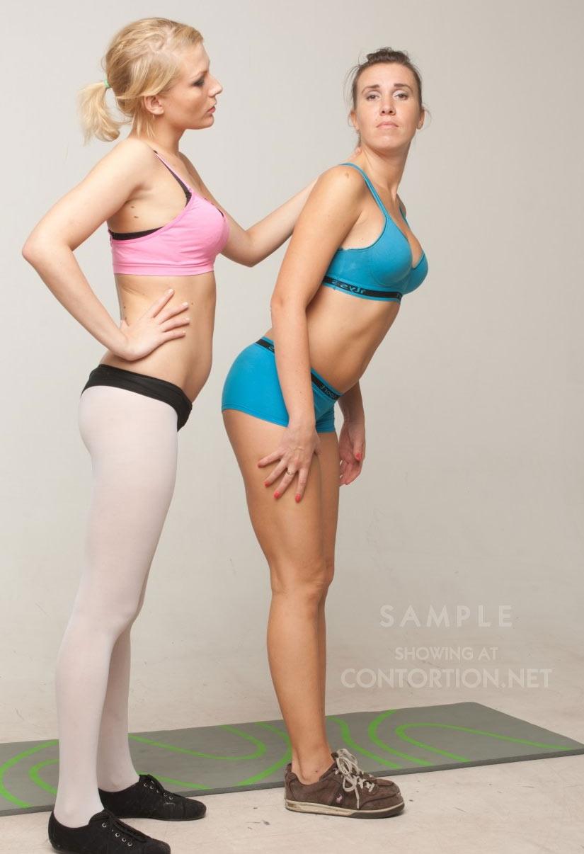 Hot yoga girls