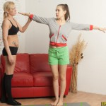 Lesbian yoga porn pics
