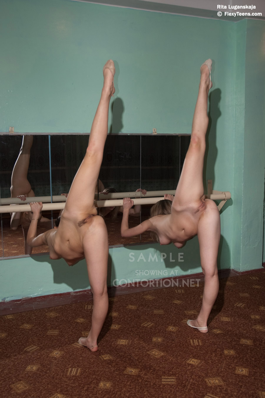 Hot nude ballet dancers video