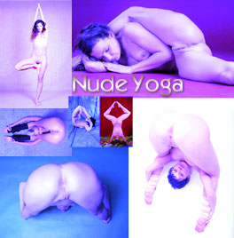 Nude yoga porn for your wild fantasies