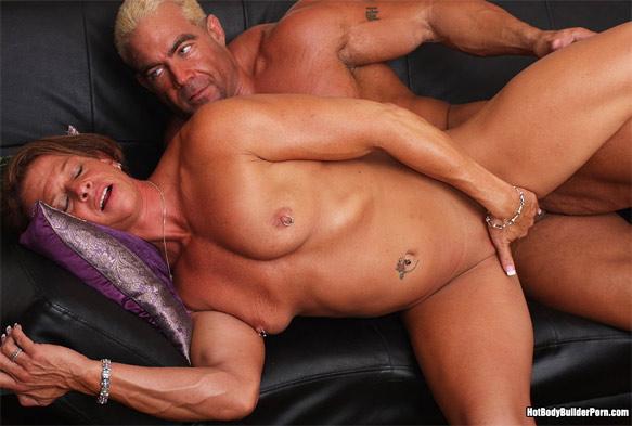 female bodybuilder anal